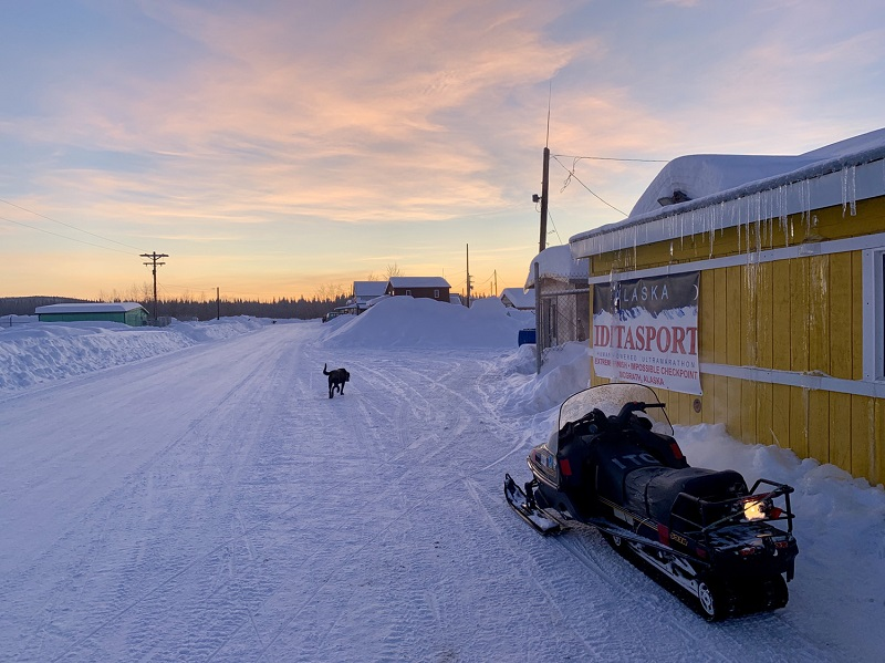 Iditarod Trail Roadhouse building
